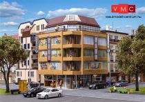 Vollmer 3800 Modern nagyvárosi sarokház - Futura (H0)