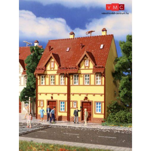 Vollmer 43844 Emeletes városi sorház-pár, sárga színben (H0)