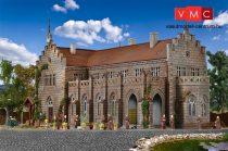 Vollmer 3860 Kolostor temetővel és téglakerítéssel (H0)