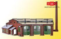Vollmer 5754 Körfűtőház, háromállásos, 15° (H0)
