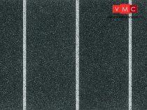 Vollmer 6014 Parkolóhely fólia, egyenes, 1000 x 80 mm (H0)