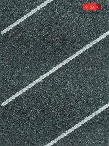 Vollmer 6015 Parkolóhely fólia, átlós, 1000 x 80 mm (H0)