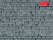 Vollmer 6024 Dekorlap: Kőfal, műanyag (H0)