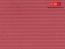 Vollmer 6026 Dekorlap: Tetőcserép, műanyag (H0)