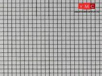 Vollmer 6037 Dekorlap: Járdalap, karton (H0)