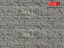 Vollmer 6039 Dekorlap: Kőfal, karton (H0)