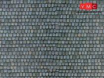 Vollmer 6041 Dekorlap: Kockakő, karton (H0)