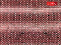 Vollmer 6042 Dekorlap: Téglafal, karton (H0)