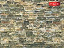 Vollmer 6043 Dekorlap: Kőfal, karton (H0)