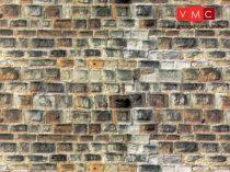 Vollmer 6045 Dekorlap: Homokkőfal, karton (H0)