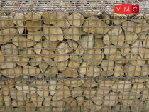 Vollmer 6057 Dekorlap: Gabione (H0)