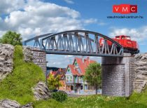 Vollmer 7302 Vasúti alacsonyívbordás híd, 160 mm (N)