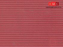 Vollmer 7353 Dekorlap: Tetőcserép, műanyag (N)
