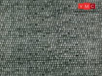 Vollmer 7360 Dekorlap: Macskakő, karton (N)