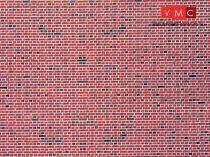 Vollmer 7361 Dekorlap: Klinkertégla, karton (N)