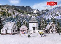 Vollmer 7613 Karácsonyi falu, LED világítással (N)