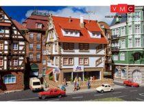 Vollmer 7664 DM-Drogeriemarkt emeletes lakóház (N)