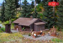 Vollmer 7727 Hegyi kunyhó, erdei sütögetővel (N)