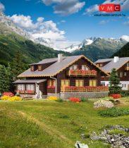 Vollmer 7745 Alpesi lakóház - Chalet (N)