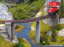 Vollmer 7830 Íves hídpálya, R 390 mm (2 db) (N)