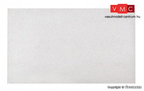Vollmer 48226 Dekorlap: Vakolt fal, kavicsos 27 x 16 cm