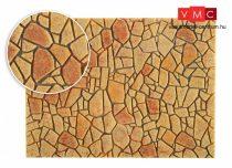 Vollmer 48227 Mediterrán sokszögű térkőburkolat - Steinkunst (H0)
