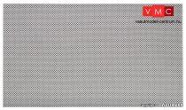 Vollmer 48255 Dekorlap, beton gyeprács, 28 x 16,3 cm (H0)