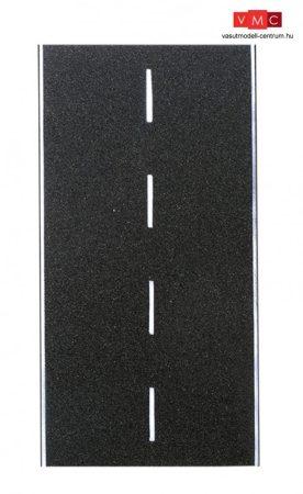 Vollmer 48260 Útburkolat, aszfaltozott, felezővonallal, 75 x 8 cm (H0)