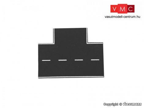 Vollmer 48263 Útkereszteződés 90°, aszfaltozott, 15,5 x 13 cm (H0)