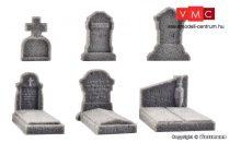Vollmer 48282 Sírkövek, 6 db (H0)