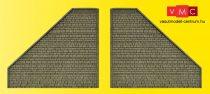 Vollmer 48801 Szárnyfal alagútbejárathoz (G) - valódi kő hatással