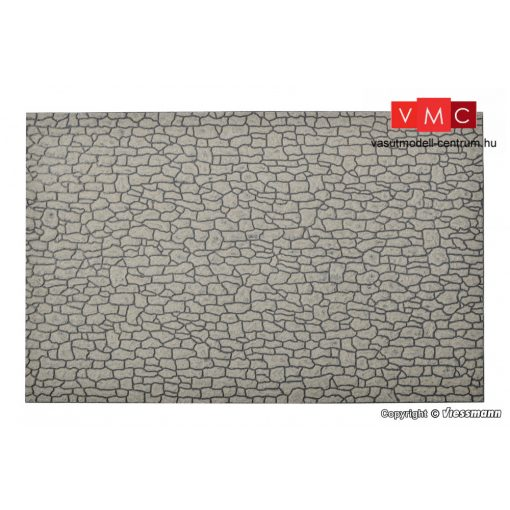 Vollmer 48824 Dekorlap - Terméskő fal (G)