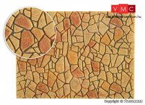 Vollmer 48827 Mediterrán sokszögű térkőburkolat - Steinkunst (G)