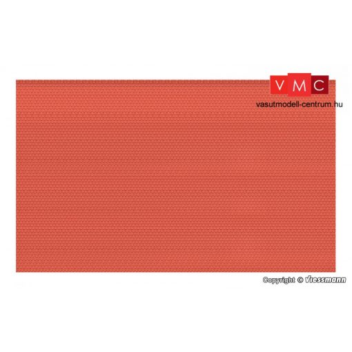 Vollmer 48830 Dekorlap - Hódfarkú tetőcserép (G)