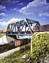Walthers 33012 Acélrácsos ívbordás kétvágányos vasúti híd (H0)