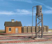 Walthers 33182 Homokolóépület tornyokkal (H0)