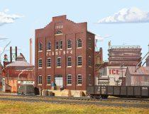 Walthers 33183 Amerikai gyárépület, Plant 04, felezett épület (H0)