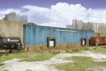 Walthers 33192 Amerikai logisztikai központ, felezett épület (H0)