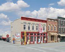 Walthers 33472 Amerikai városi sorház élelmiszerbolttal, Jim's Red Owl (H0)