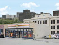 Walthers 33477 Amerikai szupermarket, 24-seven (H0)