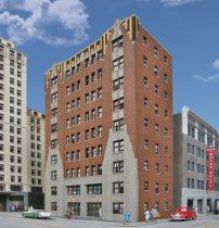 Walthers 33770 Amerikai nagyvárosi emeletes apartmanház (H0)