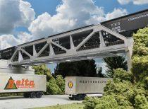Walthers 34030 Acélbordás vasúti híd, egyvágányos - LC (H0)