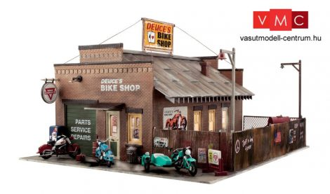 Woodland Scenics BR5846 O Deuce's Bike Shop