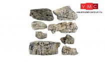 Woodland Scenics C1137 Faceted Ready Rocks
