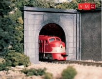 Woodland Scenics C1152 N Concrete Single Tunnel Portal (x2)