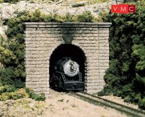 Woodland Scenics C1153 N Cut Stone Single Tunnel Portal (x2)
