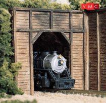 Woodland Scenics C1154 N Timber Single Tunnel Portal (x2)