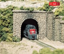 Woodland Scenics C1155 N Random Stone Single Tunnel Portal (x2)