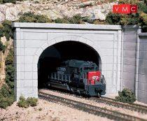 Woodland Scenics C1156 N Concrete Double Tunnel Portal (x2)