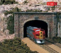 Woodland Scenics C1157 N Cut Stone Double Tunnel Portal (x2)